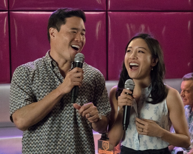 "Randall Park and Constance Wu, ""Fresh Off the Boat"""