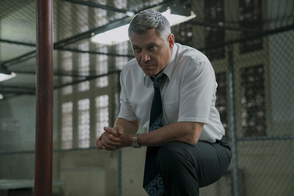 Mindhunter Jonathan Groff Season 1 Episode 7 Holt McCallany