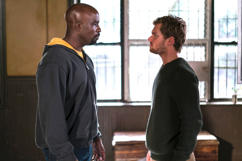 """Mike Colter and Finn Jones, """"Marvel's The Defenders"""""""