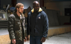 """Finn Jones and Mike Colter, """"Marvel's The Defenders"""""""