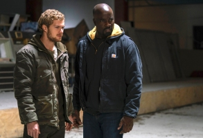 "Finn Jones and Mike Colter, ""Marvel's The Defenders"""