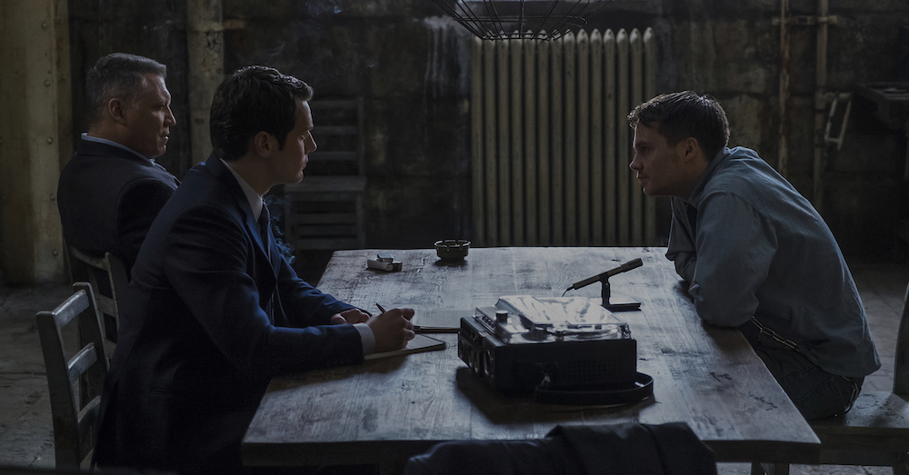 Mindhunter Holt McCallany, Jonathan Groff, Sam Strike Season 1, Episode 4