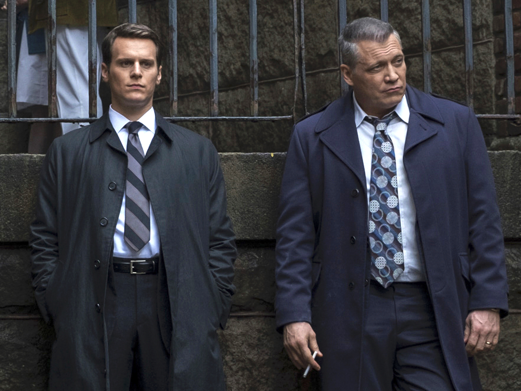 "Jonathan Groff and Holt McCallany, ""Mindhunter"""