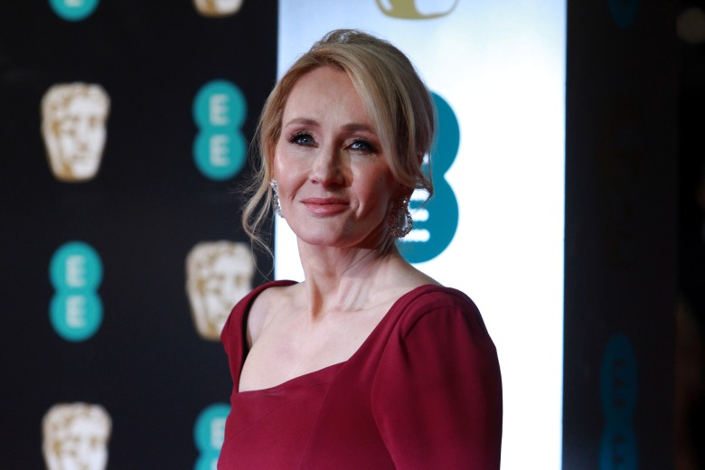 J.K. RowlingEE BAFTA British Academy Film Awards, Arrivals, Royal Albert Hall, London, UK - 12 Feb 2017
