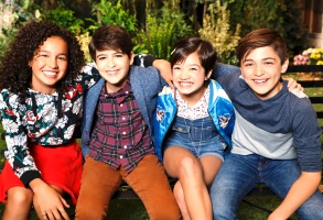 "Sofia Wylie, Joshua Rush, Peyton Elizabeth Lee, and Asher Angel, ""Andi Mack"""