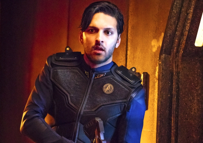 """Lethe"" -- Episode 106 -- Pictured: Shazad Latif as Lieutenant Ash Tyler of the CBS All Access series STAR TREK: DISCOVERY. Photo Cr: Jan Thijs/CBS © 2017 CBS Interactive. All Rights Reserved."