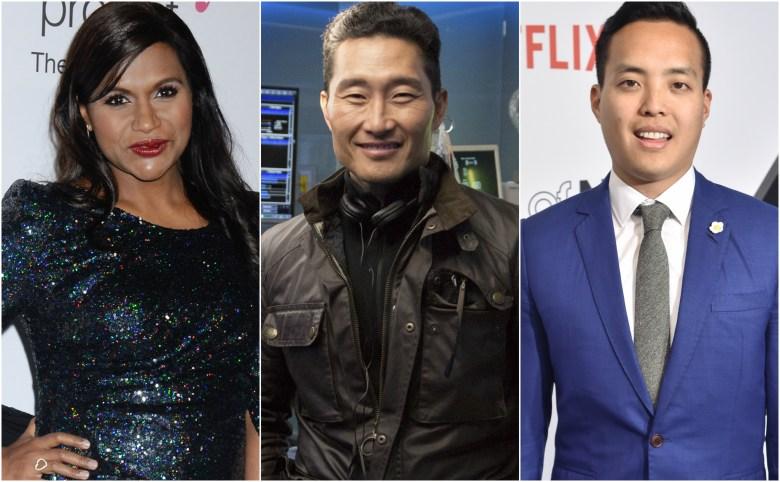 Mindy Kaling, Daniel Dae Kim, Alan Yang