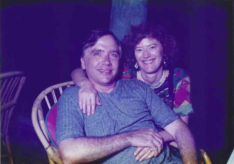 Jim and Janet Miller in the 1990s.