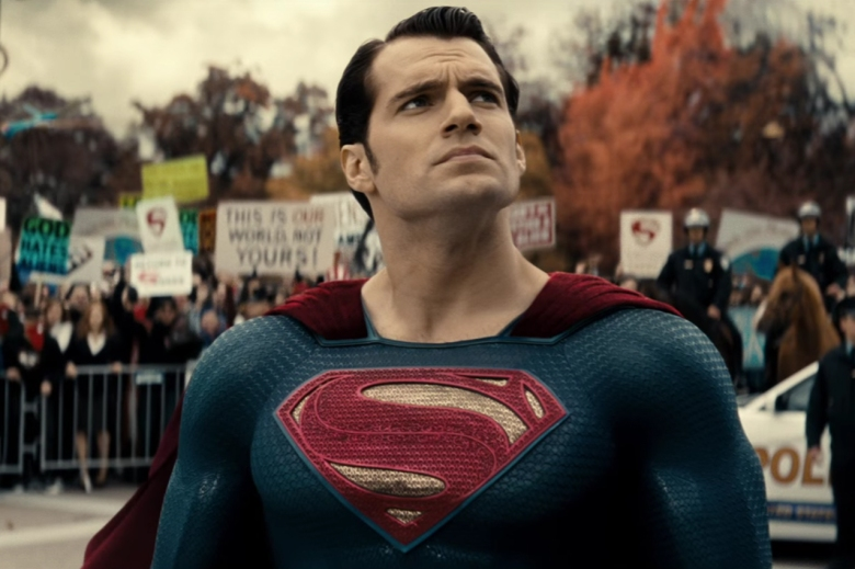 "Henry Cavil, ""Batman v Superman: Dawn of Justice"""