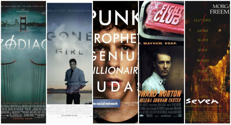 David Fincher Posters