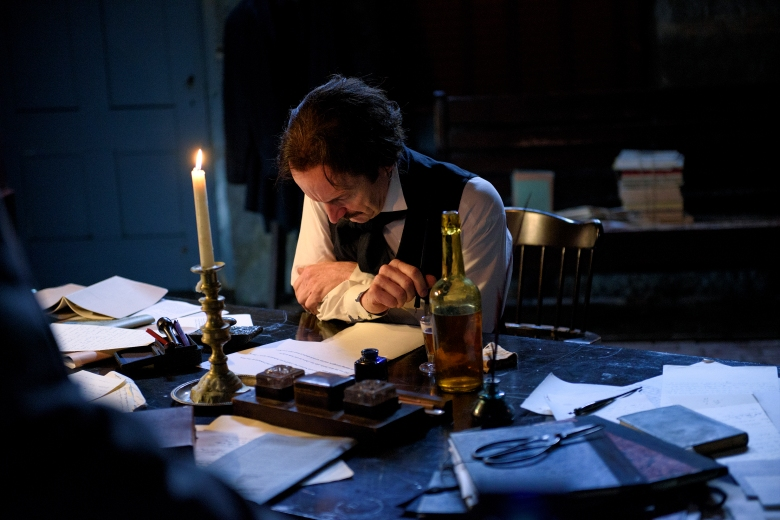 "Denis O'Hare ""Edgar Allen Poe: Buried Alive"" PBS"
