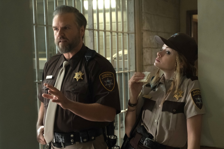 "Tyler Labine and Izzie Steele, ""Dirk Gently's Holistic Detective Agency"""