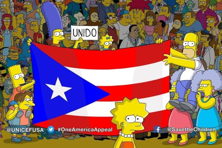 The Simpsons puerto rico