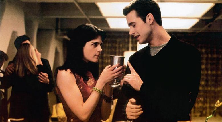 "Selma Blair and Freddie Prinze Jr. in ""Down to You"""