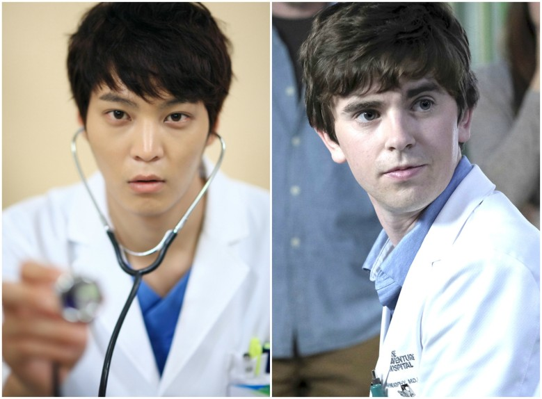"Joo Won in ""Good Doctor,"" Freddie Highmore in ""The Good Doctor"""