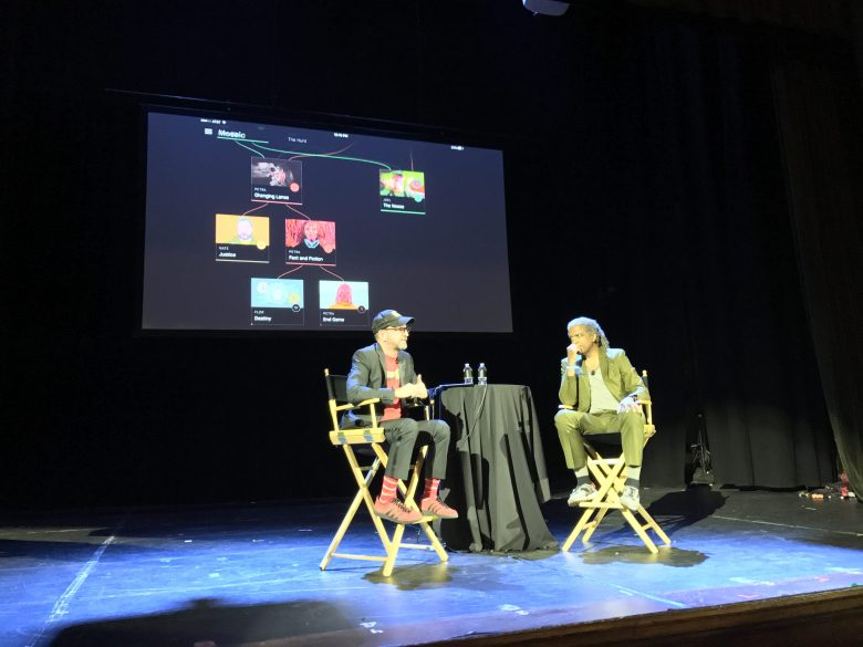 """Steven Soderbergh unveil """"Mosaic"""" at the Future of Storytelling"""