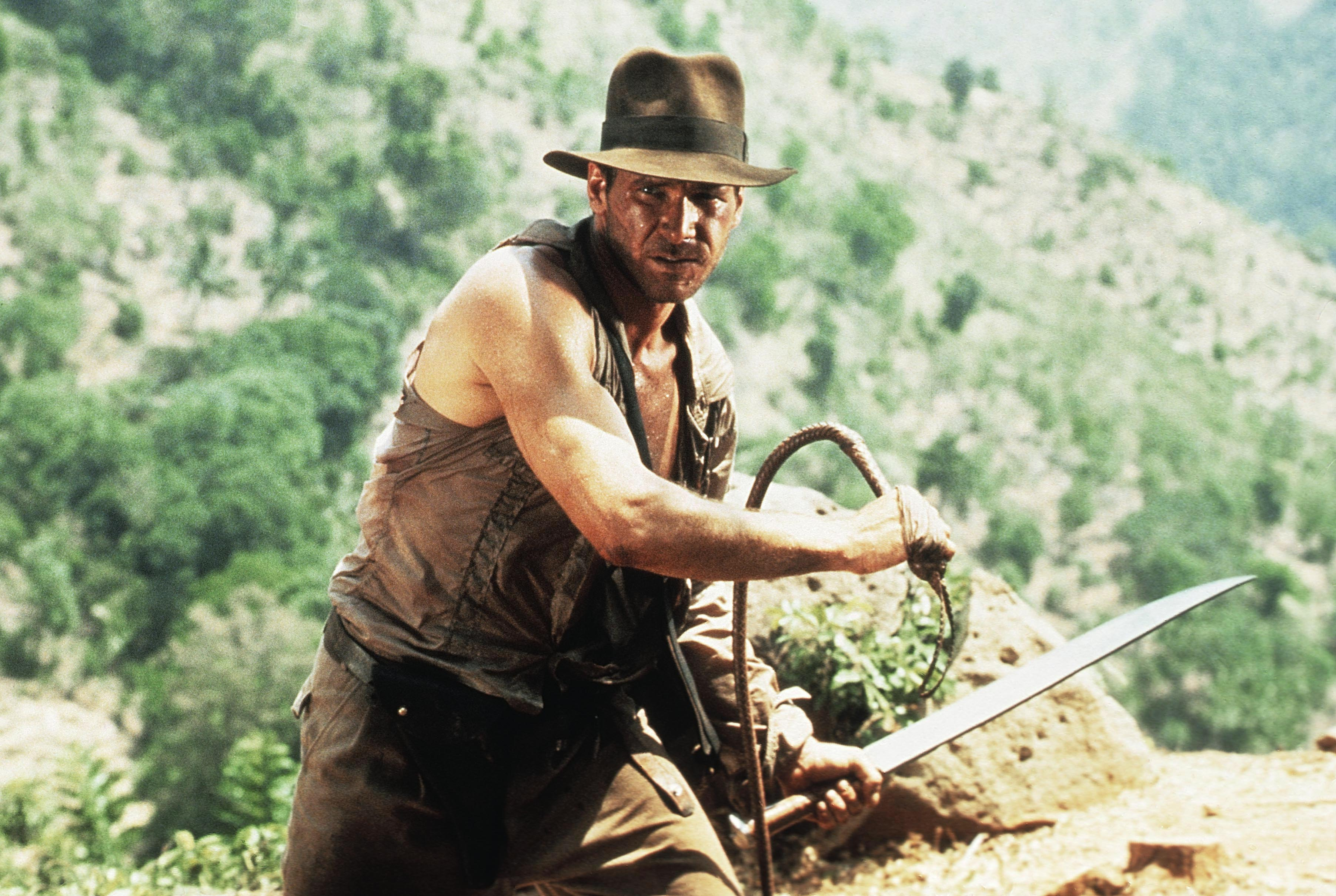 """Harrison Ford, """"Indiana Jones and the Temple of Doom"""""""