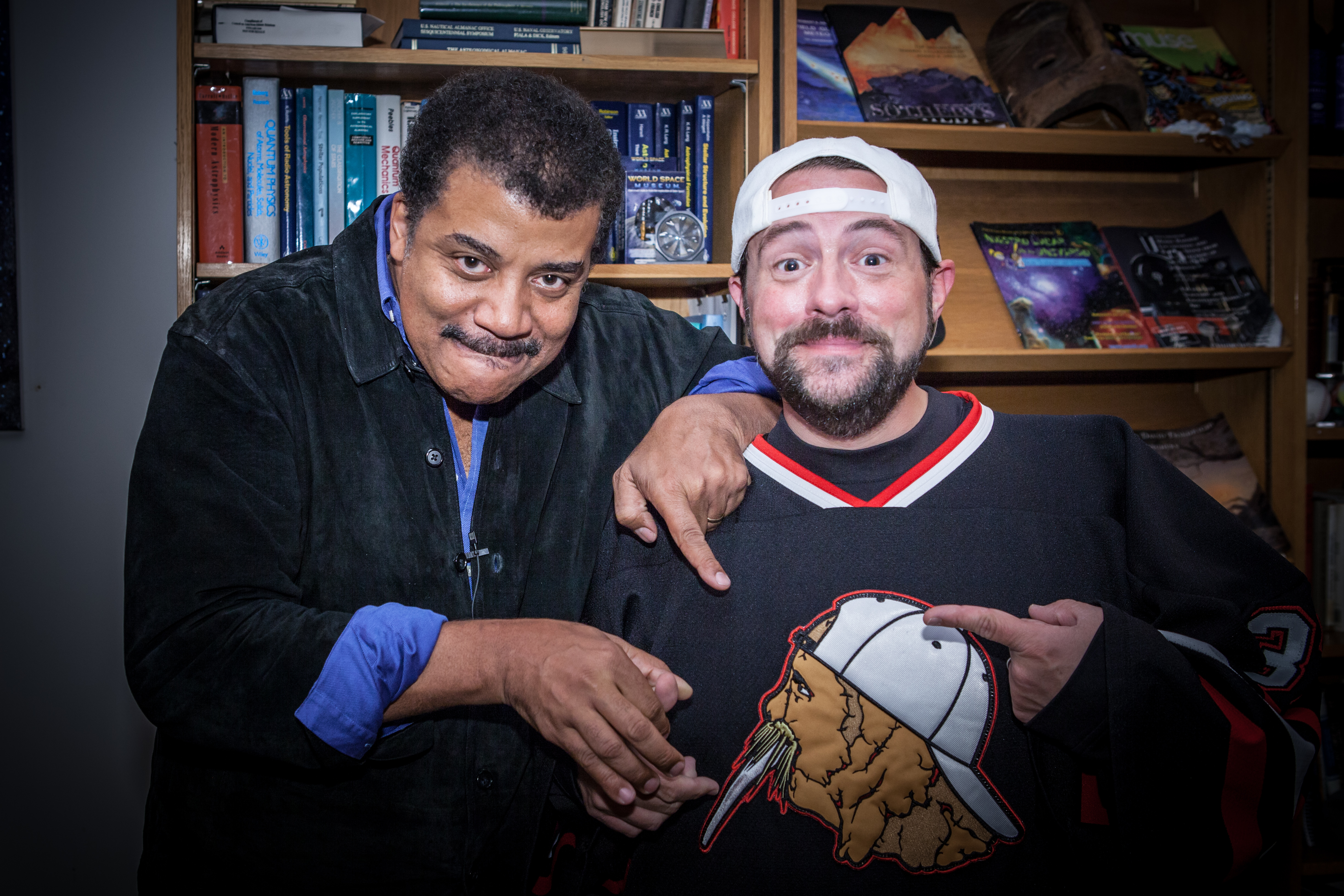Kevin Smith and Neil deGrasse Tyson Explore the Psychology of Lex Luthor on 'StarTalk' — Watch