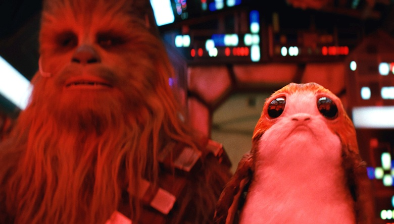 Porg in Star Wars: The Last Jedi