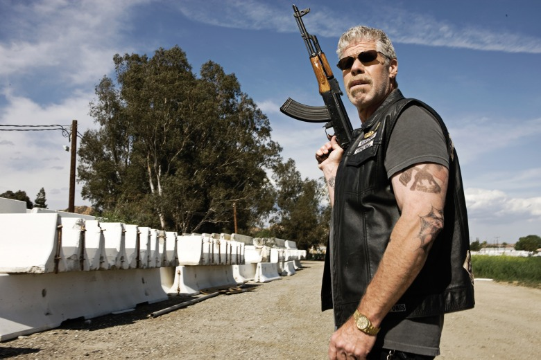 No Merchandising. Editorial Use Only. No Book Cover Usage.Mandatory Credit: Photo by Michael Muller/Fx Network/Kobal/REX/Shutterstock (5886275eb)Ron PerlmanSons Of Anarchy - 2008Fx Network/Fox 21USATelevision