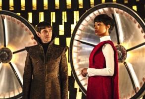 "James Frain and Sonequa Martin-Green, ""Star Trek: Discovery"""