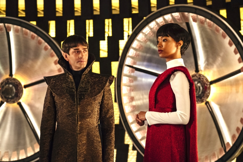 "James Frain and Sonequa Martin-Green, ""Star Trek: Discovery"""