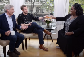 Ryan Gosling and Harrison Ford interview