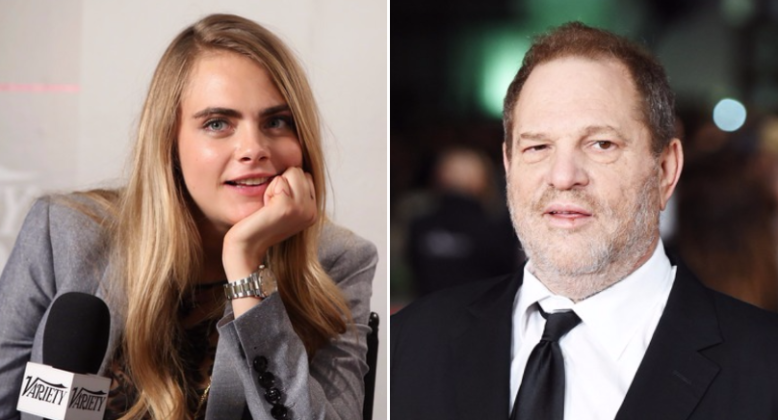 Cara Delevingne Says Harvey Weinstein Tried to Kiss Her | IndieWire