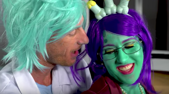 'Rick and Morty' Porn Parody 'Dick and Morty' Is Rick's Weirdest Alternate Dimension — Watch
