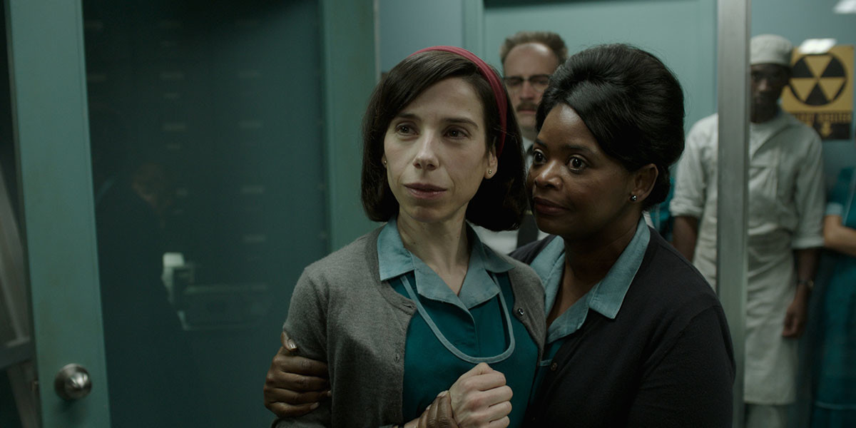 "Sally Hawkins and Octavia Spencer""The Shape of Water"""