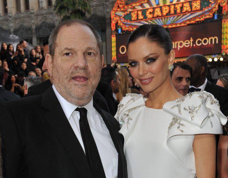 Harvey Weinstein & Georgina Chapman at the 84th Annual Academy Awards