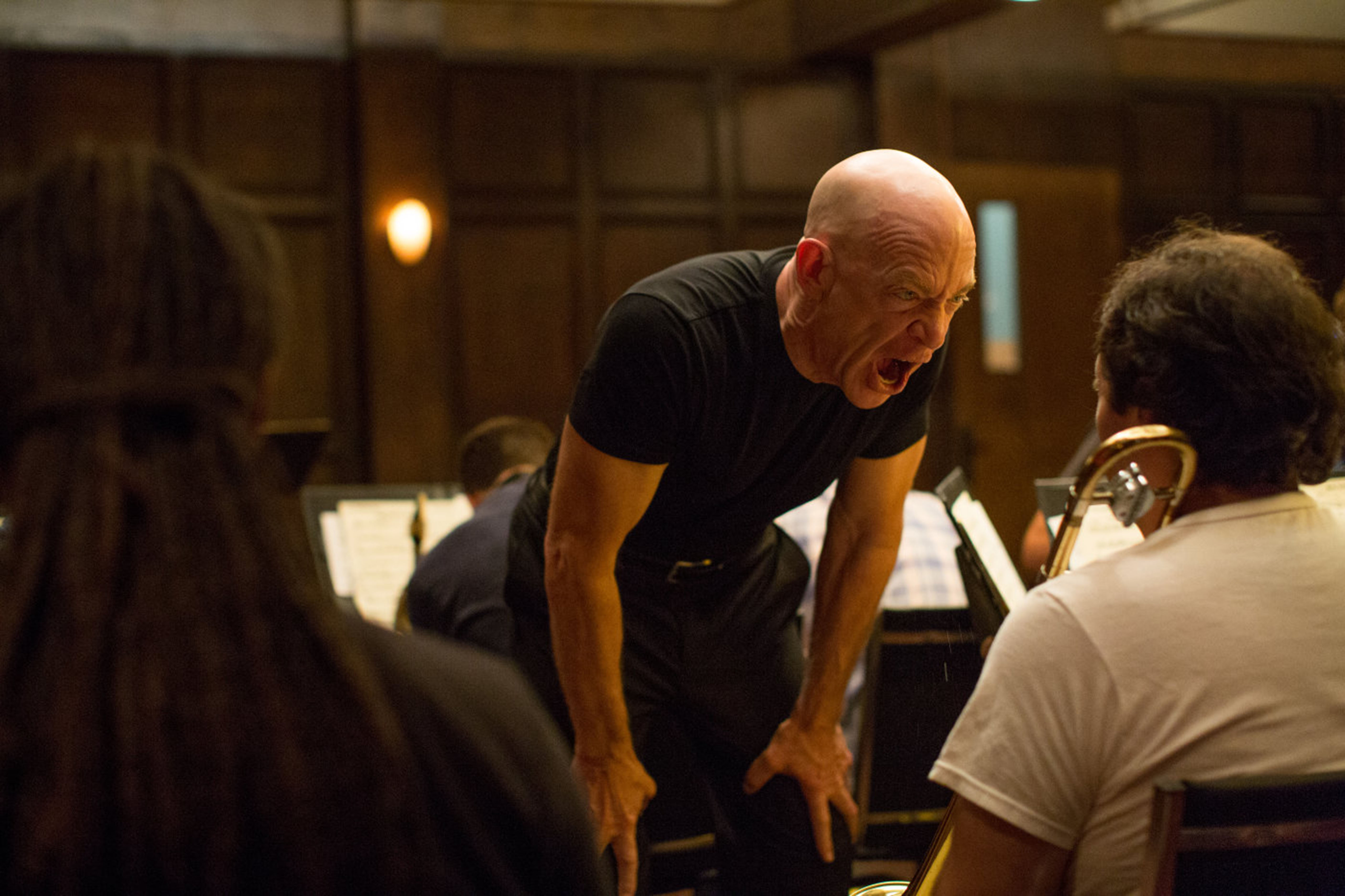 No Merchandising. Editorial Use Only. No Book Cover Usage Mandatory Credit: Photo by Moviestore/REX/Shutterstock (4313766c) JK Simmons 'Whiplash' Film - 2014