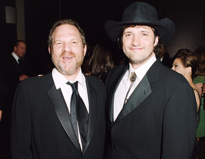 HARVEY WEINSTEIN AND ROBERT RODRIGUEZTHE 58TH CANNES FILM FESTIVAL, 'SIN CITY' FILM PARTY AT THE MAJESTIC HOTEL, CANNES, FRANCE - 18 MAY 2005