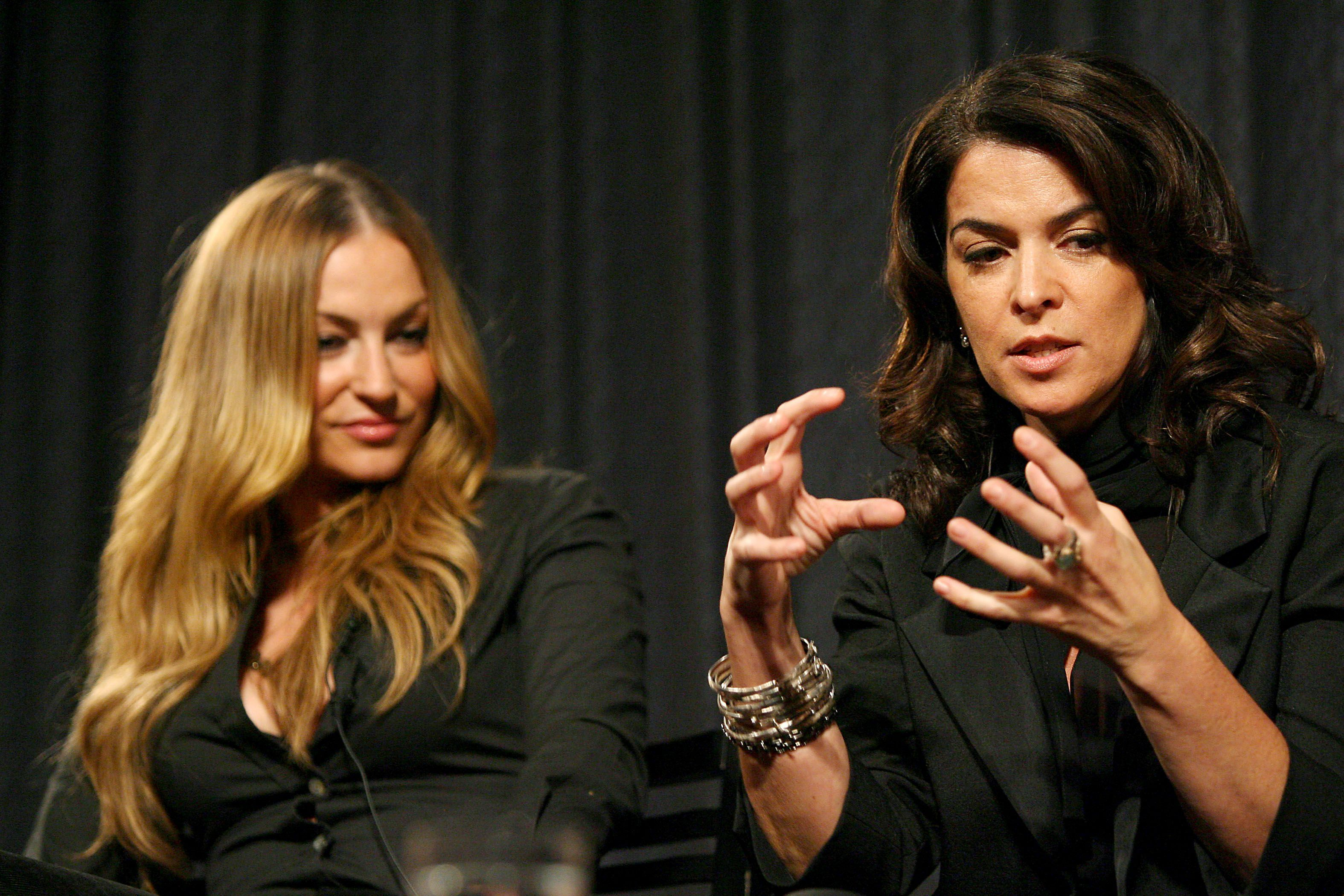 Annabella Sciorra Is Disappointed That Happy Harvey Weinstein Can Return to His 'Hunting Ground' After Posting Bail