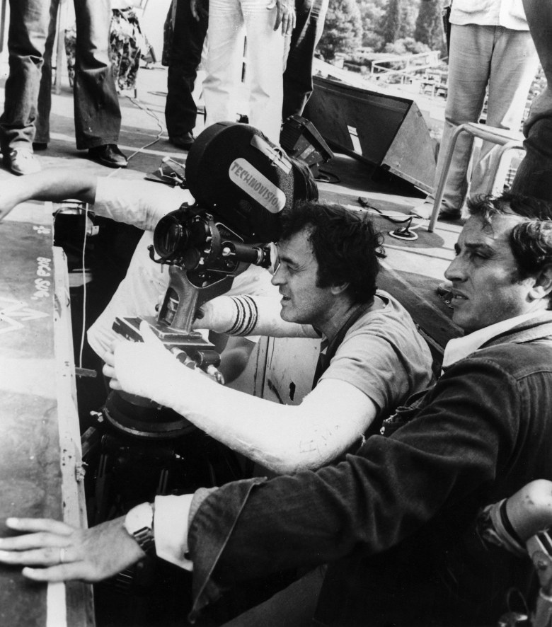 Bernardo Bertolucci and Vittorio Storaro in 1979