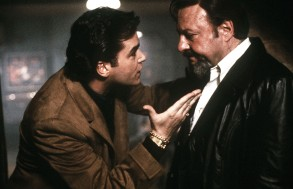 "Ray Liotta and Chuck Low in ""Goodfellas"""