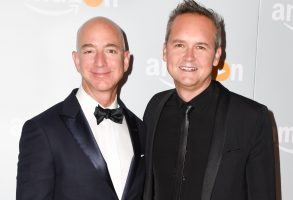 Jeff Bezos, Roy PriceAmazon Emmy Celebration, Arrivals, Los Angeles, USA - 18 Sep 2016