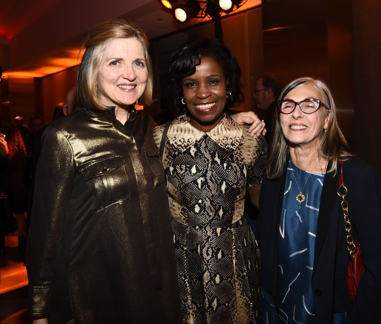 Robin Swicord, Misan Sagay and Julia ChasmanAcademy Nicholl Fellowship in Screenwriting Awards, Los Angeles, USA - 03 Nov 2016