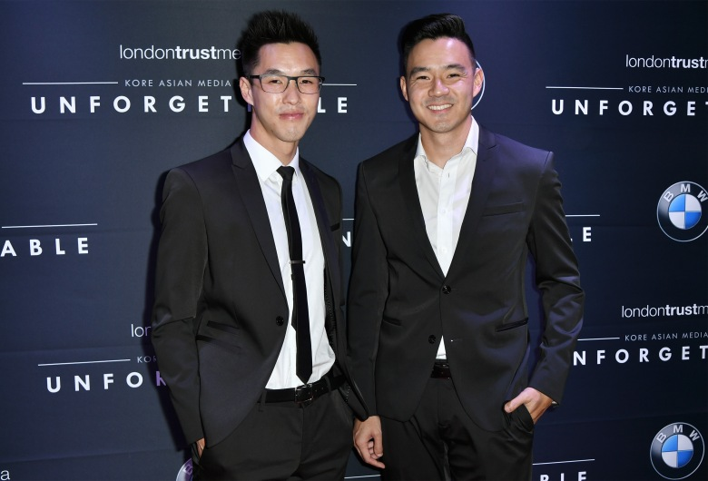 Wesley Chan and Philip Wang15th Annual Unforgettable Gala, Los Angeles, USA - 10 Dec 2016