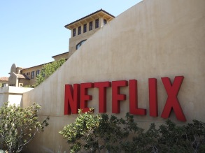 Netflix Corporate Headquarters in Los Gatos California Usa 20 August 2015 Netflix is an American Provider of On-demand Streaming Media and Dvd-by Mail Content to Viewers in North America Australia New Zealand South American and Parts of Europe United States Los GatosUsa Netflix Corporate Headquarters - Aug 2015