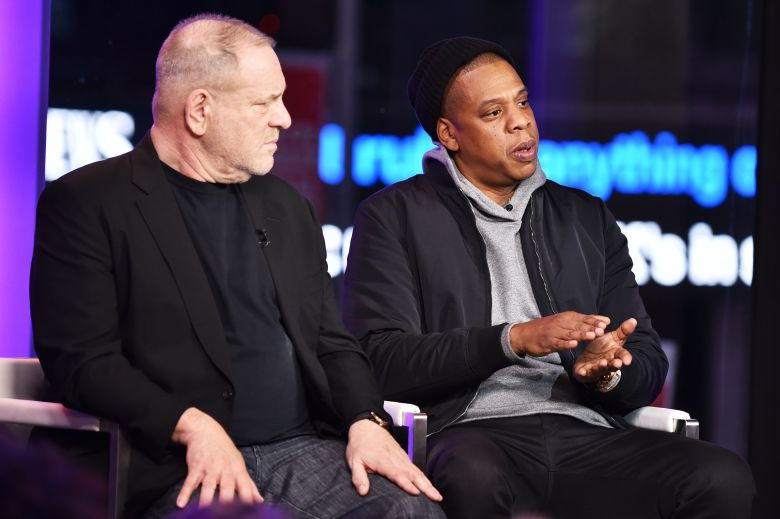Harvey Weinstein and Jay ZTime and Punishment: A Town Hall Discussion with JAY Z and Harvey Weinstein, New York, USA - 08 Mar 2017