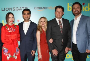 Zoe Kazan, Kumail Nanjiani, Holly Hunter, Michael Showalter, Ray RomanoNew York Special Screening of Amazon's 'THE BIG SICK', USA - 20 Jun 2017