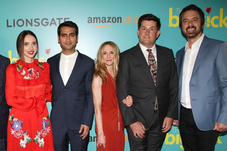 Zoe Kazan, Kumail Nanjiani, Holly Hunter, Michael Showalter, Ray RomanoNew York Special Screening of Amazon's 'THE BIG SICK', USA - 20 Jun 2017