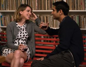 "No Merchandising. Editorial Use Only. No Book Cover UsageMandatory Credit: Photo by Sarah Shatz/Apatow/Kobal/REX/Shutterstock (8877347ba)Zoe Kazan, Kumail Nanjiani""The Big Sick"" Film - 2017"