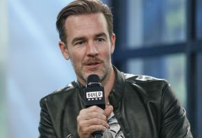 """James Van Der Beek participates in the BUILD Speaker Series to discuss the Viceland show """"What Would Diplo Do?"""" at AOL Studios, in New YorkBUILD Speaker Series: James Van Der Beek, New York, USA - 03 Aug 2017"""