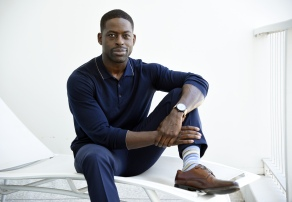 "Actor Sterling K. Brown, a cast member in the NBC series ""This Is Us,"" poses for a portrait during the 2017 Television Critics Association Summer Press Tour at the Beverly Hilton, in Beverly Hills, Calif2017 Summer TCA - ""This Is Us"" Portrait Session, Beverly Hills, USA - 03 Aug 2017"