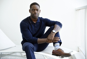 """Actor Sterling K. Brown, a cast member in the NBC series """"This Is Us,"""" poses for a portrait during the 2017 Television Critics Association Summer Press Tour at the Beverly Hilton, in Beverly Hills, Calif2017 Summer TCA - """"This Is Us"""" Portrait Session, Beverly Hills, USA - 03 Aug 2017"""