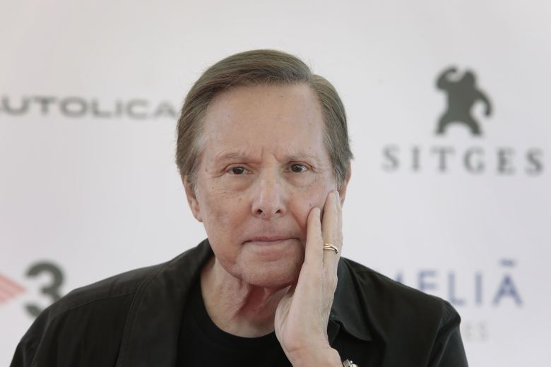 William Friedkin50th Sitges Film Festival, Sitges (Barcelona), Spain - 06 Oct 2017US filmmaker William Friedkin poses for the media during a press conference held on the occasion of Sitges International Film Festival in Sitges, Barcelona, northeastern Spain, 06 October 2017. The International Fantastic Film Festival runs from 05 until 15 October 2017.
