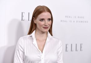 Jessica Chastain arrives at the 24th annual ELLE Women in Hollywood Awards at the Four Seasons Hotel Beverly Hills, in Los Angeles24th Annual ELLE Women in Hollywood Awards, Los Angeles, USA - 16 Oct 2017