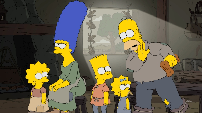 """The Serfsons"" episode of ""The Simpsons"""